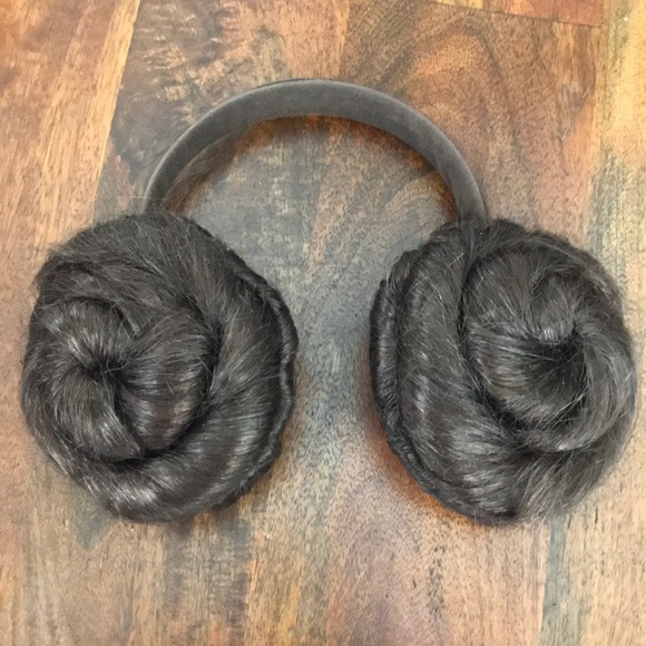 princess leia hair headphones